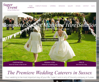 Super Event Wedding Catering and Marquee Hire Sussex